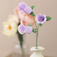Glockenblumen aus Krepppapier
