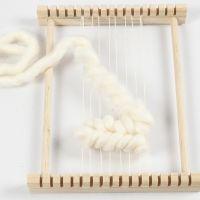Weben mit der Soumak-Technik