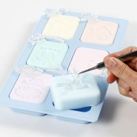 How to make relief designs in handmade bars of soap