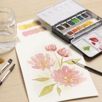 Für Anfänger: Lernen Sie, mit Aquarellfarben zu malen
